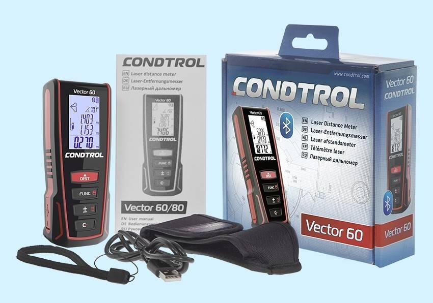 Laser Entfernungsmesser Vector : Купить Лазерный дальномер condtrol vector стоимость Р В